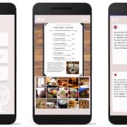 旅行アプリ向け翻訳機能のイメージ画