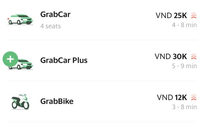 Grabタクシー