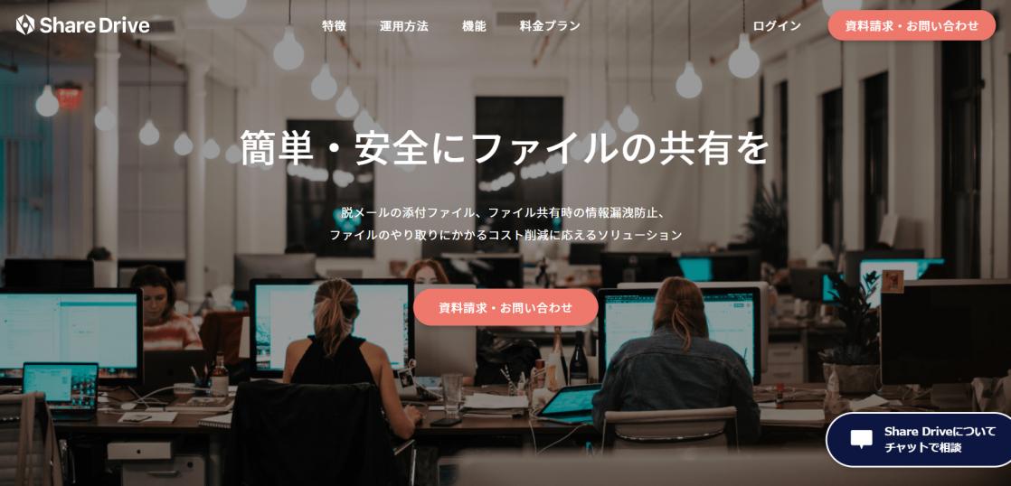 オンライン共有ストレージ-ShareDrive (1)