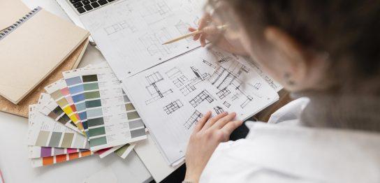 デザインをする人