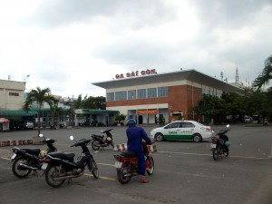 ベトナムのサイゴン駅