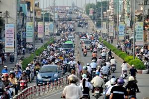 ベトナムの道