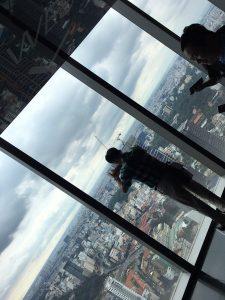 ベトナムフィナンシャルタワーからの景色
