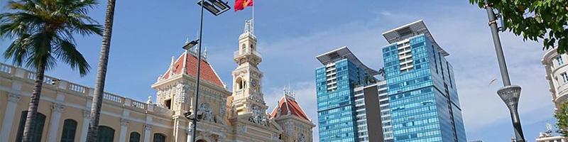 ITビジネスが急成長しているベトナムの街並み