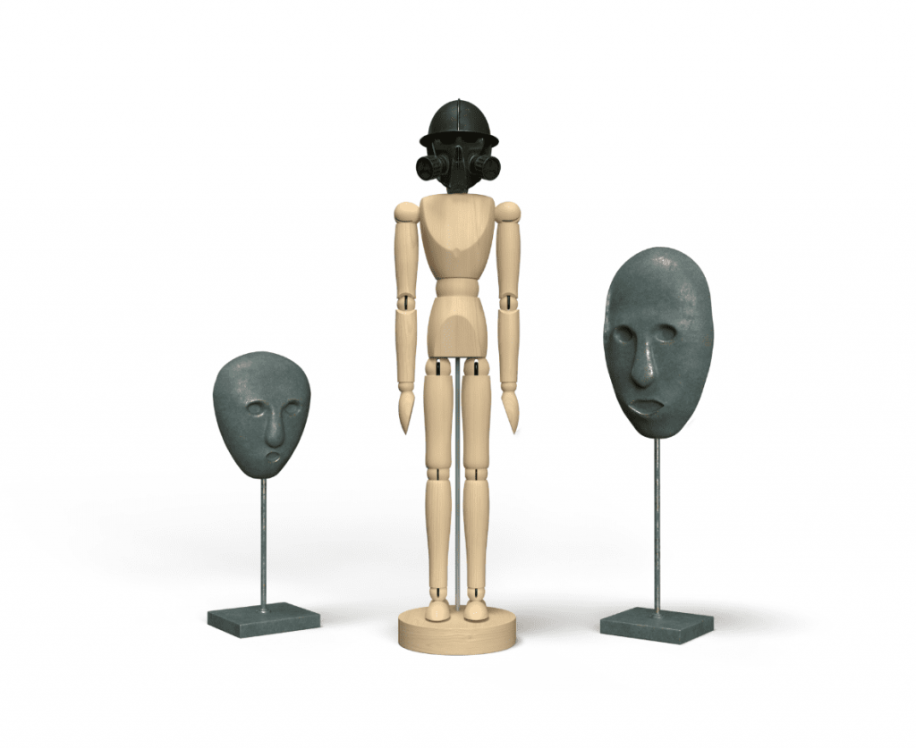 行動の台座と言葉の彫像